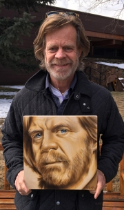William Macy Commissioned