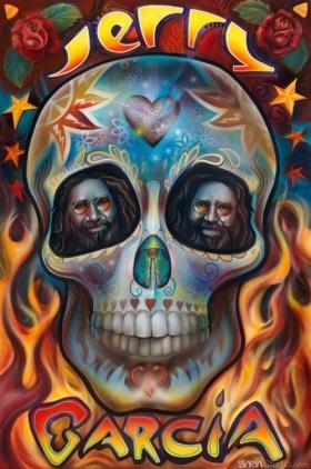 Jerry Garcia Skull
