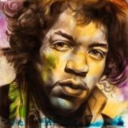 Jimi Hendrix Haze