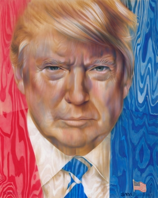 """Against the Grain"" A Portrait of President Trump"