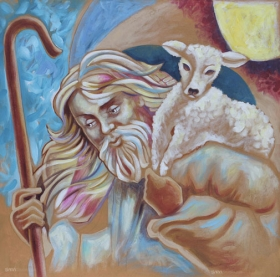 """The Shepherd and the Lamb"" from Luke 15:1-7"